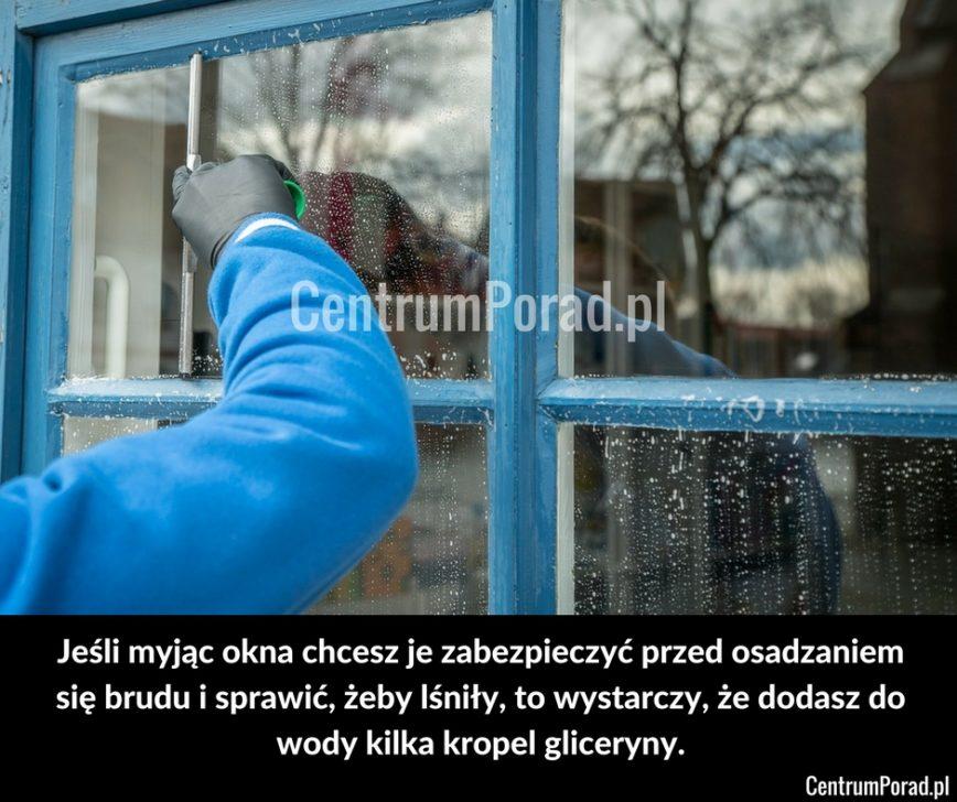 Jak umyć okna?